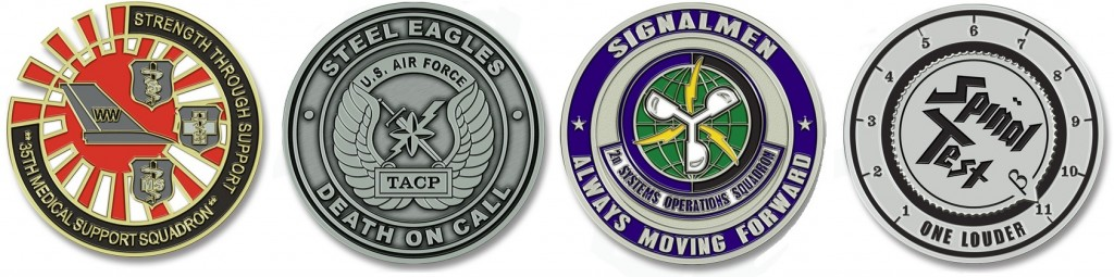 Air Force Military Challenge Coins