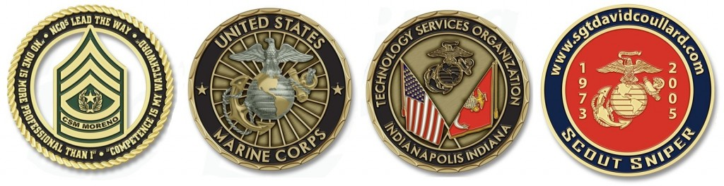 Challenge Coins of The United States Marine Corps