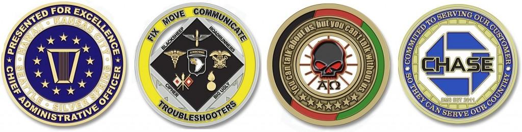 Custom Army Challenge Coins