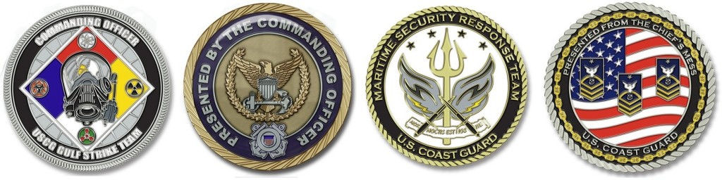 Military Challenge Coins USCG