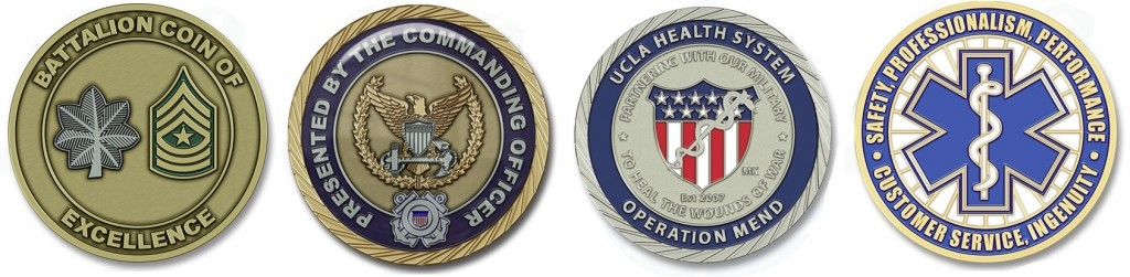 Military Command Coins