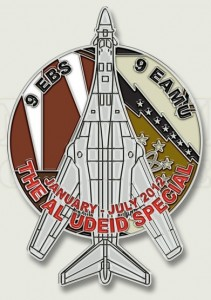 Military Jet Challenge Coins