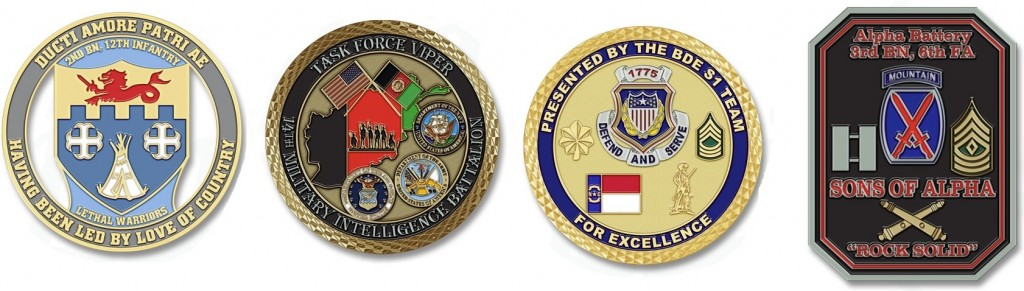 Army Challenge Coins | Military Challenge Coins