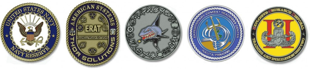USNavy Unit Coins