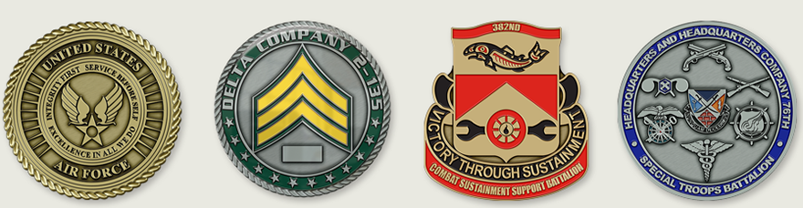 Military Challenge Coins - Custom Challenge Coins Made for All Branches