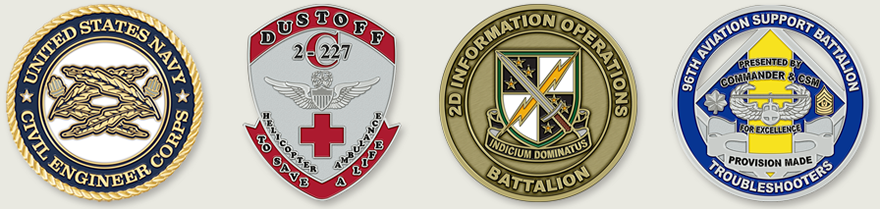 Military Challenge Coins - Custom Challenge Coins Made for