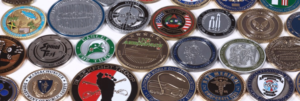 Military Challenge Coins From Past Customers