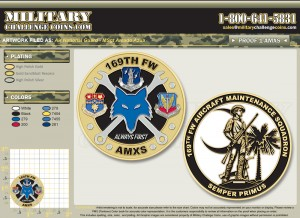 169th Fighter Wing Coin